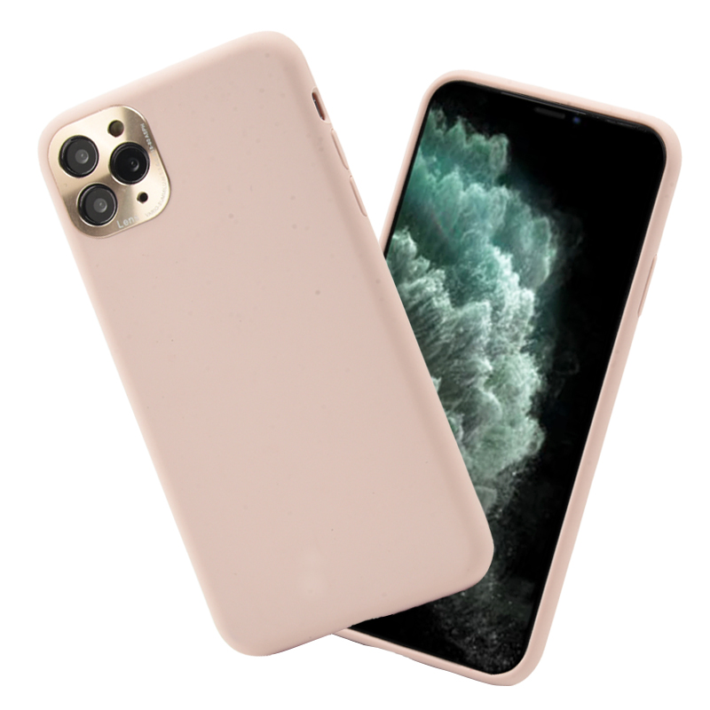 For iPhone 11 Pro Max Waterproof Shockproof Soft Liquid Silicone Mobile Cover Phone Case With Camera Protection