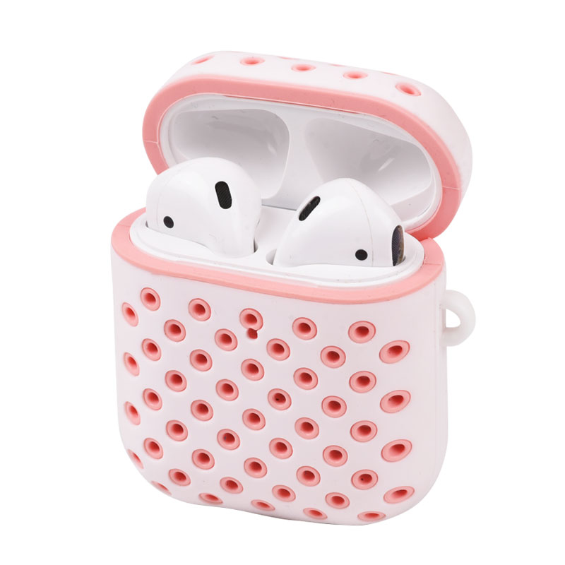 For Apple AirpodsSilicone Case For Airpod Earphone 2019 Soft Silicon Color Protective Cover