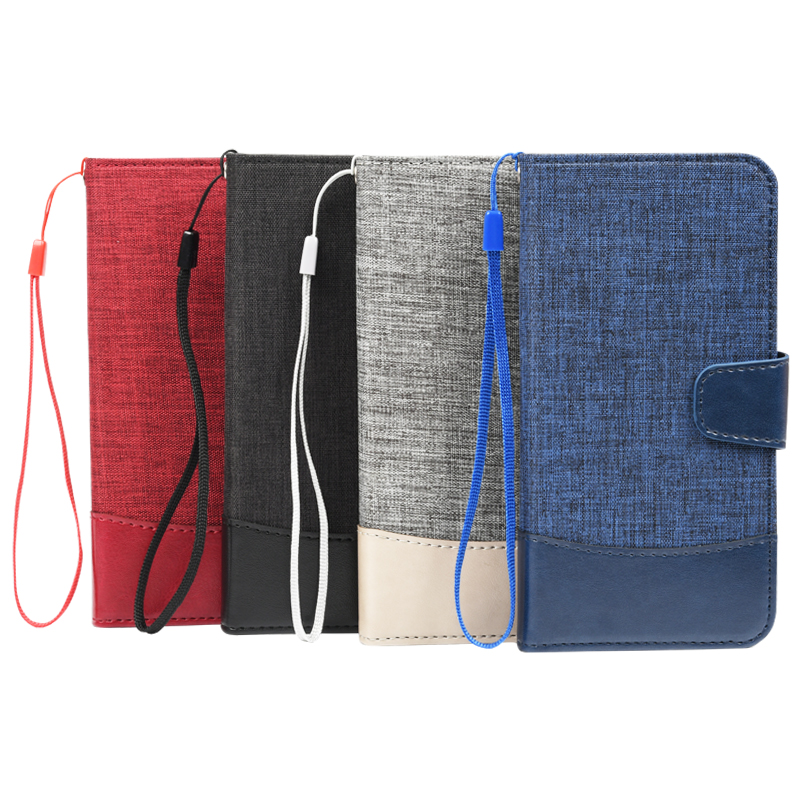 for iphone 11 Factory Fabric-Like Shockproof Protective Flip Wallet Phone Case Cell Phone Pouch