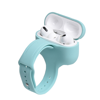 Candy Color for Airpoding Pro Case Shockproof Silicone Airpoding Case with Wrist Band
