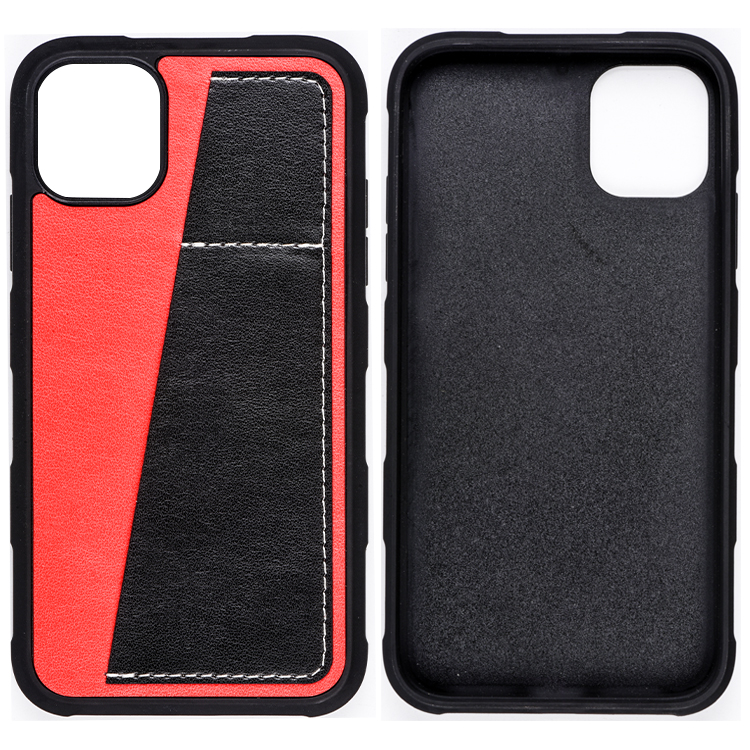 Wholesale Super Thin Shockproof Multifunctional PU Leather Phone Case Back Cover for iPhone 11